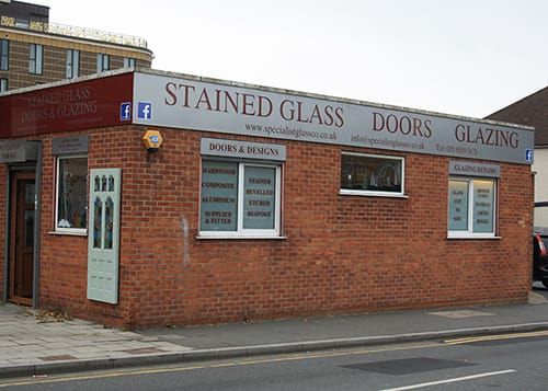 Specialist Glass Co Shop Front